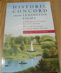 Historic Concord and the Lexington Fight: A Brief History of Concord - Allen French, Leslie Perrin Wilson