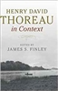 Henry David Thoreau in Context - James S. Finley, ed.
