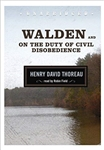 Walden and On the Duty of Civil Disobedience - Henry David Thoreau, read by Robin Field (Audio CD)