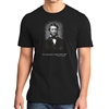 """If I am not I, who will be?"" T-Shirt with Thoreau Quote and Portrait"