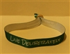 """Live Deliberately"" Thoreau Quote Cloth Wristband"