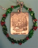 Thoreau Society Pewter In-Color Christmas Ornament