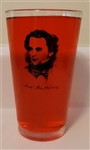 Pint Glass with Nathaniel Hawthorne Portrait