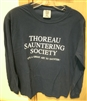 """Thoreau Sauntering Society"" Long-sleeved Shirt"