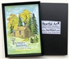 Heartful Art Magnet with The Thoreau Society Cabin Logo