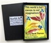 "Heartful Art Magnet - Thoreau Quote: ""This world is but canvas to our imaginations"""