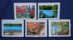 Seasonal Walden Pond Note Cards (Box of 10) - Deborah Shneider Smith, photographer