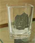 The Thoreau Society Walden House Shot Glass