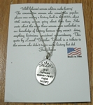 Pewter Necklace: Well-behaved women rarely make history