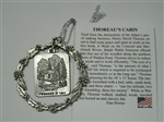 Thoreau Society Pewter Christmas Ornament