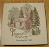 The Thoreau Society Coaster (stone)