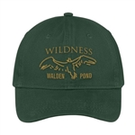 Walden Pond Wildness Hat or Ball Cap - Willow Green