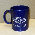 Blue Walden Pond Mug