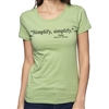 Simplify Women's Crew Neck T-Shirt