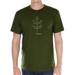 "Green Oak Leaf ""Simplify"" T-shirt"