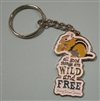 """All Good Things"" Chipmunk Key Chain with Thoreau Quote"