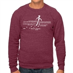 Different Drummer Crew-Cut Sweatshirt with Thoreau Quote
