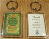 """Walden"" Lucite Key Chain with Thoreau Quote"