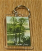 Walden Pond Lucite Key Chain with Thoreau Quote