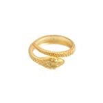 Gold-colored Serpent Ring