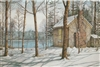 On Walden Pond Notecard - Nicholas Santoleri