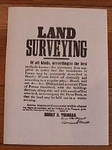 Land Surveying Poster
