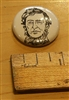 Henry David Thoreau Literary Button