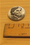 Louisa May Alcott Literary Button